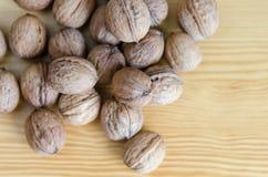 грецкие орехи группы Стоковое фото RF