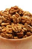 грецкие орехи детали Стоковое Фото