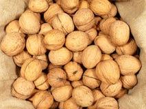 грецкие орехи мешка стоковые изображения
