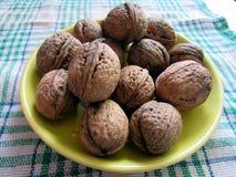 Грецкие орехи натюрморта Стоковое фото RF
