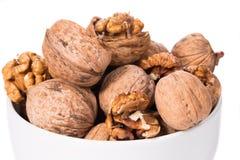 Грецкие орехи образовывают в шаре Стоковое Фото