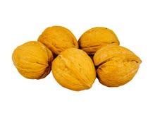 грецкие орехи раковины стоковая фотография rf