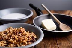 Грецкие орехи crunchy стоковые изображения