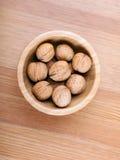 Грецкий орех в шаре Стоковая Фотография