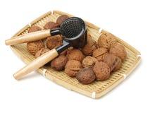 Грецкий орех и Щелкунчик Стоковые Изображения