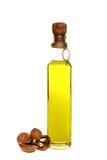 грецкий орех масла бутылки Стоковое Изображение RF