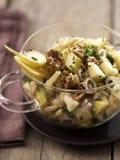 грецкий орех салата gruyere яблока Стоковое Изображение RF