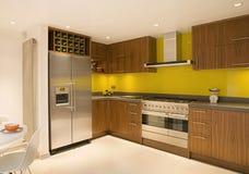 грецкий орех современной кухни тавра новый Стоковое Изображение RF