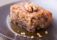 грецкий орех торта Стоковые Фотографии RF