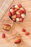 Грецкий орех Jujube и jujube стоковая фотография rf