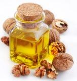 грецкий орех nuts масла Стоковое Фото