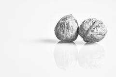 2 грецкого ореха отражения Стоковая Фотография RF
