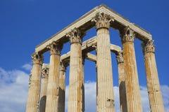 Греческая архитектура, Афины Стоковая Фотография RF