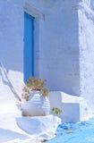 Греческая архитектура острова стоковые фотографии rf
