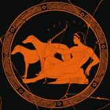 Греческая богиня Artemis иллюстрация вектора