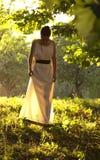 Греческая девушка Стоковая Фотография RF