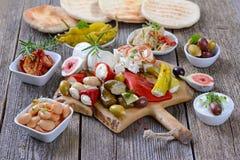 Греческая еда стоковые изображения