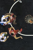 Греческая игра Paok лиги корзины против Kifisia Стоковое фото RF