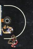 Греческая игра Paok лиги корзины против Olympiakos Стоковая Фотография