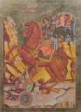 греческая икона правоверная Стоковое фото RF