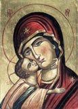 Греческая икона стоковое изображение