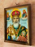 греческая икона стоковые изображения rf