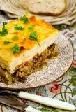 Греческая национальная кухня Стоковая Фотография