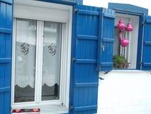 греческая дом Стоковая Фотография RF