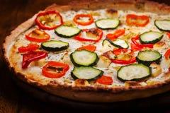 Греческая пицца с сыром фета стоковое фото rf