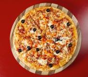 греческая пицца стоковые фотографии rf