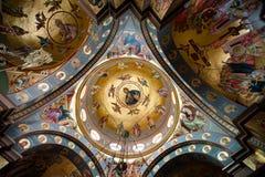 Греческая православная церков церковь 7 апостолов Стоковые Изображения RF