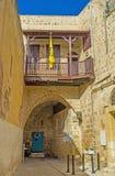 Греческая православная церков церковь в акре Стоковое Фото