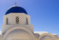 Греческая православная церков церковь стоковые фото