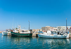Греческая рыбацкая лодка. Стоковые Фотографии RF
