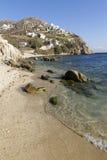 греческая серия mykonos островов Стоковое Изображение RF