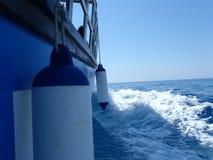 Греческая синь! Стоковые Фото