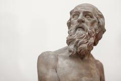 Греческая статуя бюста Стоковые Изображения RF