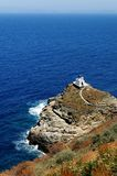 Греческая церковь на острове Sifnos Стоковое фото RF