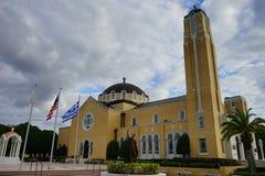Греческая церковь Стоковые Изображения RF