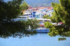 греческие острова Skiathos стоковые фото