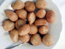 Греческие печенья Loukoumades меда Стоковая Фотография