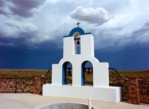 Греческие правоверные колоколы часовни Стоковое фото RF
