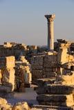 греческие римские руины Стоковые Изображения RF
