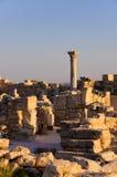 греческие римские руины Стоковые Изображения