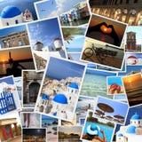 Греческие фото островов Стоковое фото RF