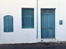 Греческие цвета Стоковые Фотографии RF