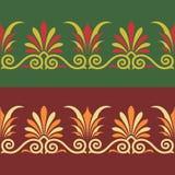 греческий вектор орнамента Стоковые Фото