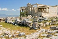 греческий висок Стоковые Фотографии RF