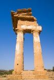 греческий висок Стоковое Изображение