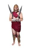 греческий воин человека Стоковые Изображения